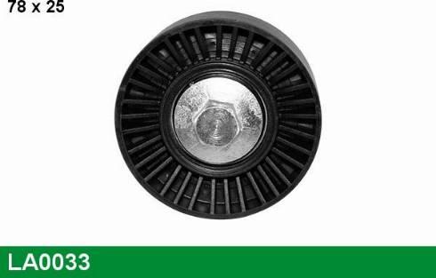 ABA 25405160 - Alternatör Gergi Rulmanı , Kanallı V-Kayısı parcadolu.com