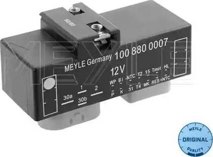 Meyle 100 880 0007 - Elektro Fan Kontrol Ünitesi (Motor Soğutması) parcadolu.com