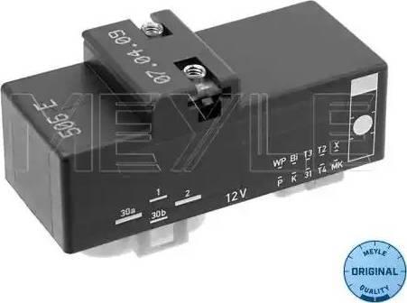 Meyle 100 880 0019 - Elektro Fan Kontrol Ünitesi (Motor Soğutması) parcadolu.com