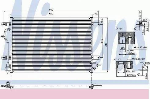 Nissens 94583 - Kondansatör, Klima Radyatörü parcadolu.com