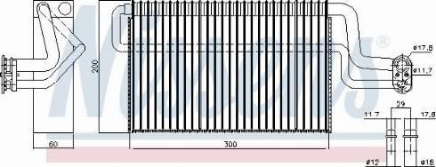 Nissens 92306 - Evaporatör, Klima / Kalorifer Radyatörü parcadolu.com