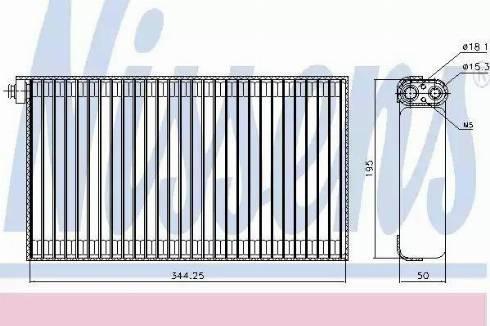 Nissens 92310 - Evaporatör, Klima / Kalorifer Radyatörü parcadolu.com