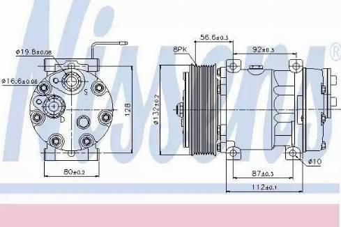 Nissens 89065 - Klima Kompresörü , Klima Sistemi parcadolu.com