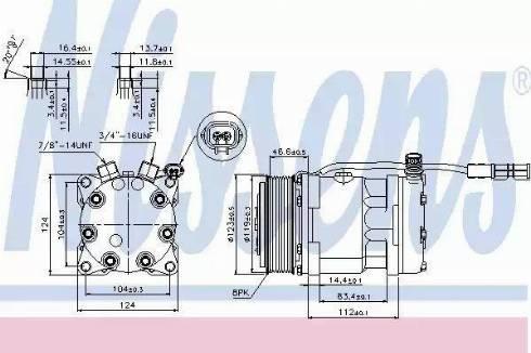 Nissens 89139 - Klima Kompresörü , Klima Sistemi parcadolu.com