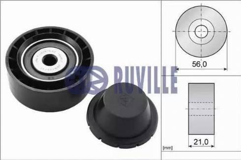 Ruville 55578 - Alternatör Gergi Rulmanı , Kanallı V-Kayısı parcadolu.com