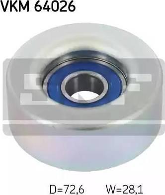 ABA 25187085 - Alternatör Gergi Rulmanı , Kanallı V-Kayısı parcadolu.com