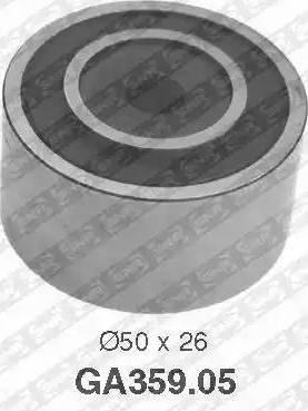 SNR GA359.05 - Alternatör Gergi Rulmanı , Kanallı V-Kayısı parcadolu.com
