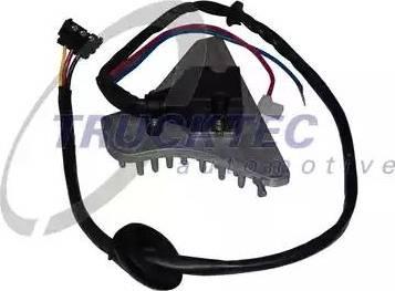 Trucktec Automotive 0258380 - Klima Şalteri, Isıtma / Havalandırma parcadolu.com