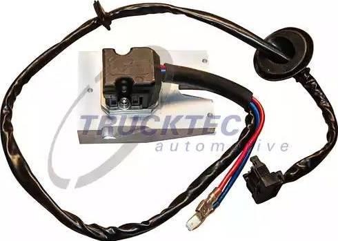 Trucktec Automotive 0258379 - Klima Şalteri, Isıtma / Havalandırma parcadolu.com