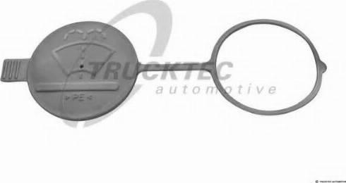 Trucktec Automotive 0261015 - Cam / Silecek Su Depo Kapağı parcadolu.com