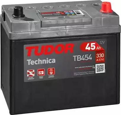Tudor TB454 - Mars Motoru Aküsü parcadolu.com