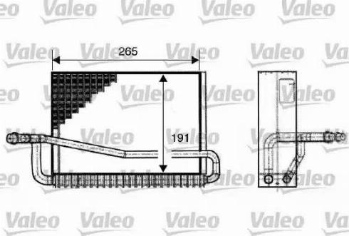 Valeo 817520 - Evaporatör, Klima / Kalorifer Radyatörü parcadolu.com