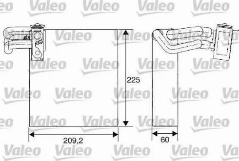 Valeo 817680 - Evaporatör, Klima / Kalorifer Radyatörü parcadolu.com